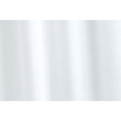 Plain Vinyl Shower Curtain