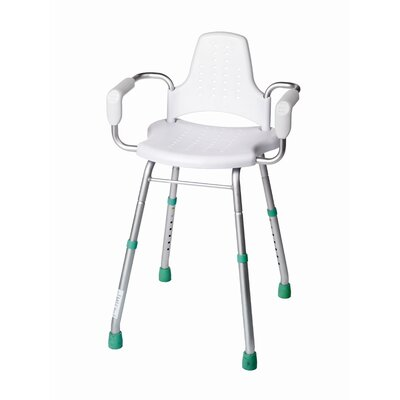 Croydex Modular White Shower Stool