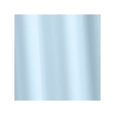 Croydex Plain Polyester Textile Shower Curtain