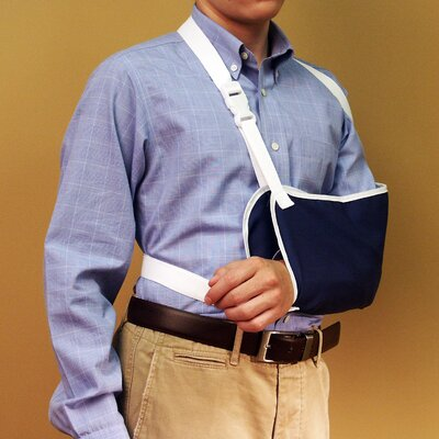 NYOrtho Arm Sling with Delrin Buckle in Navy