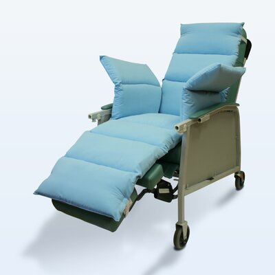 NYOrtho Geri-Chair Comfort Seat in Light Blue