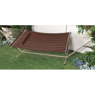 """Bliss Hammocks """"S"""" Stitched Comfort Classic Hammock with Stand"""