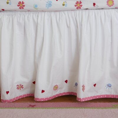 The Little Acorn Natureland Fairies Bed Skirt