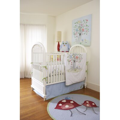 The Little Acorn Wishing Tree Crib Bed Skirt
