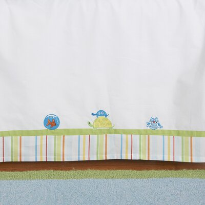 The Little Acorn Funny Friends Bed Skirt