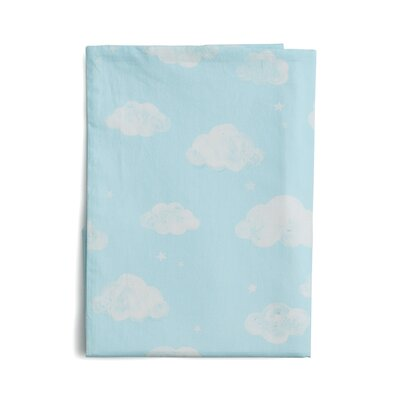 The Little Acorn Baby Owls Clouds Fitted Sheet