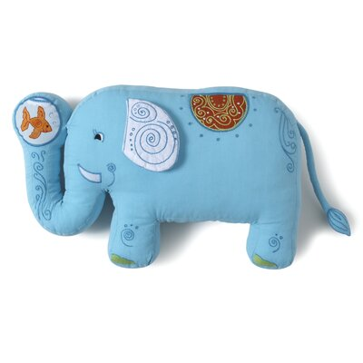 The Little Acorn Funny Friends Elephant Pillow