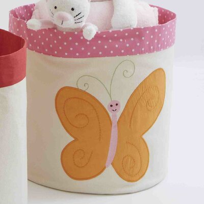 The Little Acorn Natureland Fairies Butterfly Toy Storage Bin