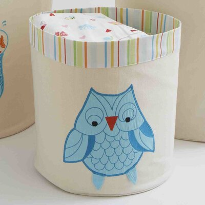 The Little Acorn Funny Friends Owl Toy Storage Bin