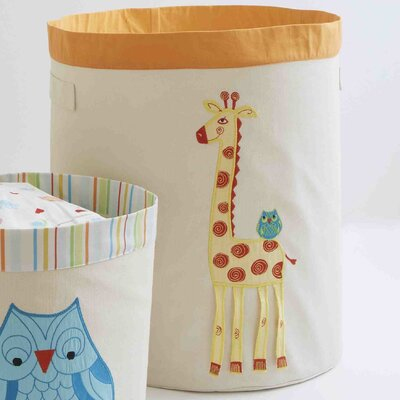 The Little Acorn Funny Friends Giraffe Toy Storage Bin