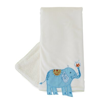 The Little Acorn Funny Friends Elephant Blanket