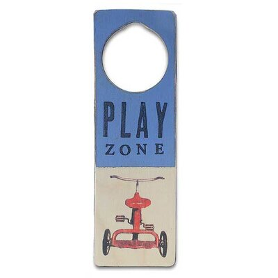 "Tree by Kerri Lee ""Play Zone"" Door Hanger"