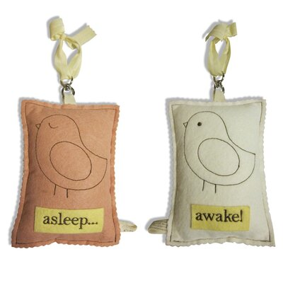 Tree by Kerri Lee Bird Asleep / Awake Door Hanger