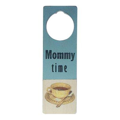 """Tree by Kerri Lee """"Mommy Time"""" Door Hanger"""