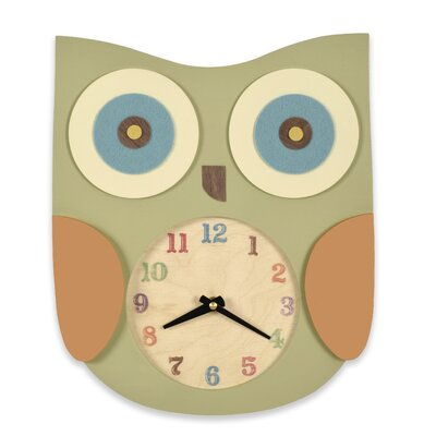 Tree by Kerri Lee Owl Clock
