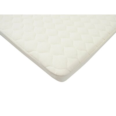 Organic Waterproof Quilted Pack 'n Play Mattress Pad Cover