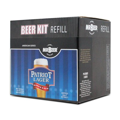 Mr. Beer Patriot American Lager Brew Pack