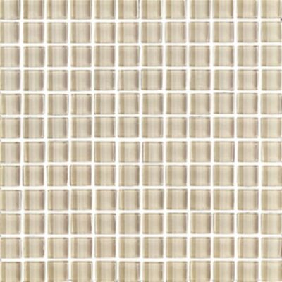 "Interceramic Shimmer 12"" x 12"" Matte Mosaic in Beach"