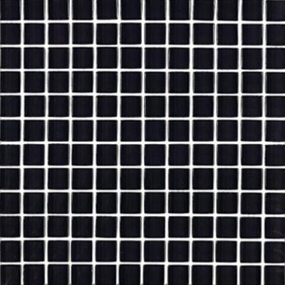 "Interceramic Shimmer 1"" x 1"" Matte Mosaic in Midnight"