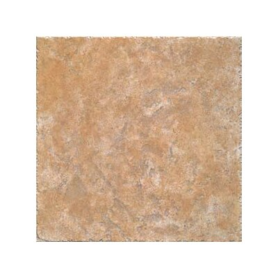 "Interceramic Creekstone 20"" x 20"" Ceramic Floor and Wall Tile in Gold"