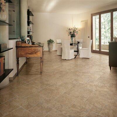 """Marazzi Artea Stone 20"""" x 20"""" Field Tile in Cappuccino"""