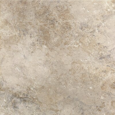 "Marazzi Aida 18"" x 18"" Field Tile in Beige Gray"