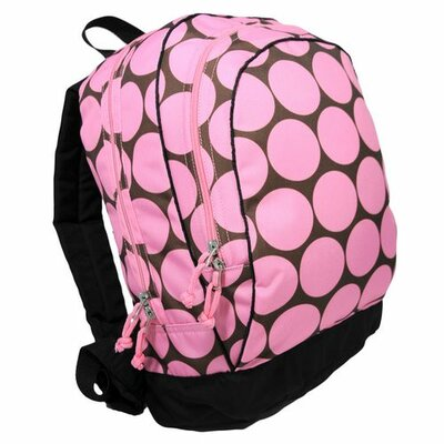Big Dots Backpack in Pink