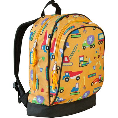 Wildkin Under Construction Olive Kids Sidekick Backpack