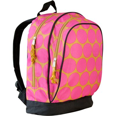Big Dots Hot Pink Sidekick Backpack