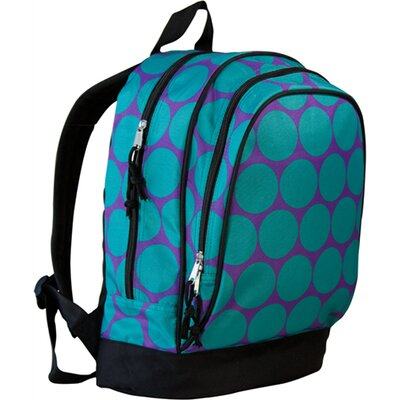 Wildkin Big Dots Aqua Sidekick Backpack