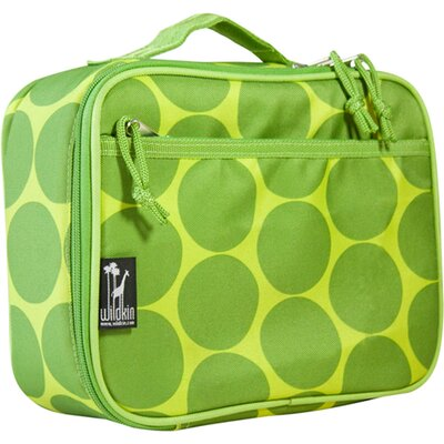 Big Dots Green Lunch Box