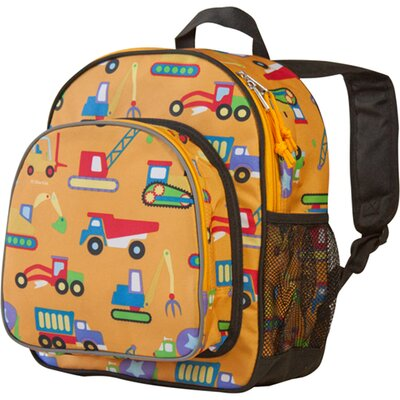 Under Construction Olive Kids Pack'n Snack Backpack
