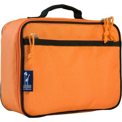Solid Colors Navel Lunch Box in Orange