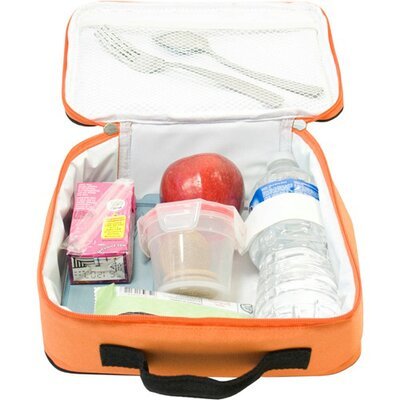 Wildkin Solid Colors Navel Lunch Box in Orange