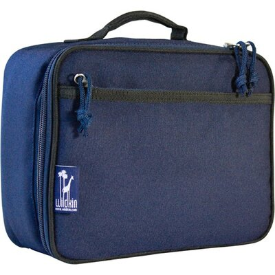 Wildkin Solid Colors Lunch Box in Navy Blue