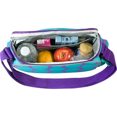 Wildkin Ashley Big Dots Aqua Lunch Cooler