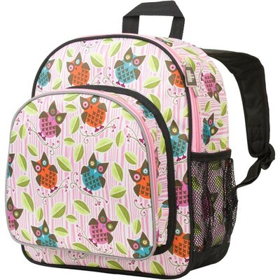 Owls Pack N Snack Backpack