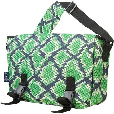 Wildkin Jumpstart Snake Skin Messenger Bag