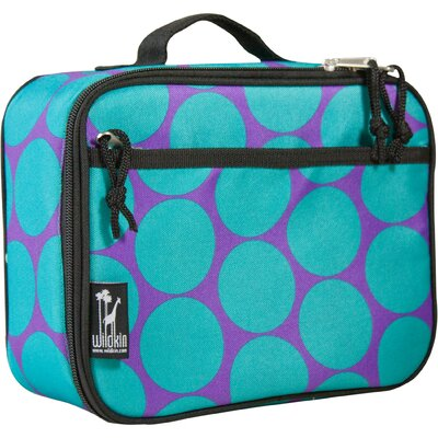 Big Dots Aqua Lunch Box