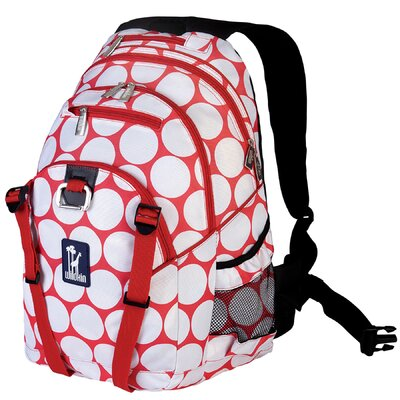Wildkin Ashley Big Dot Serious Backpack