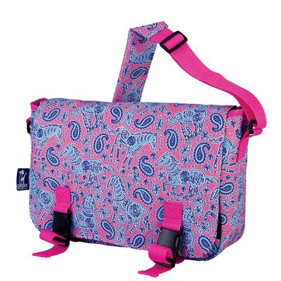 Wildkin Ashley Ponies Jumpstart Messenger Bag