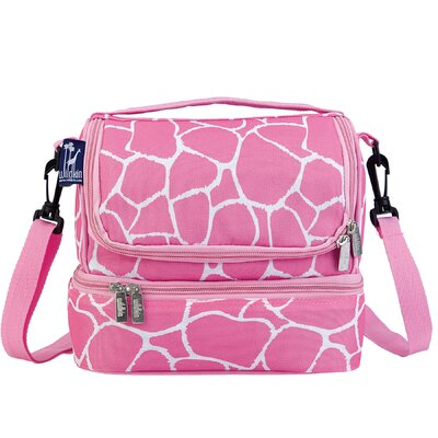 Wildkin Ashley Giraffe Double Decker Lunch Bag