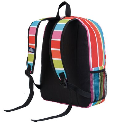 Wildkin Ashley Bright Stripes Crackerjack Backpack