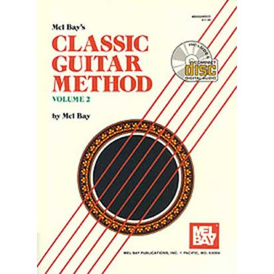 Mel Bay Publications Classic Guitar Method Book - Volume 2