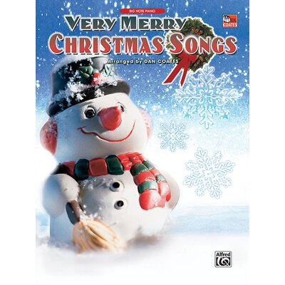 Alfred Publishing Company Very Merry Christmas Songs