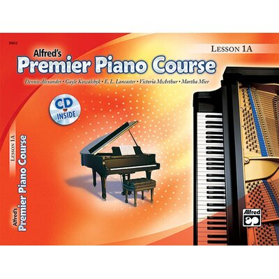 Alfred Publishing Company Premier Piano Course: Lesson Book 1A (Book and CD)