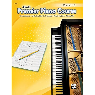 Alfred Publishing Company Premier Piano Course: Theory Book 1B
