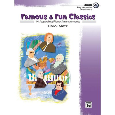 Alfred Publishing Company Famous and Fun Classics, Book 4