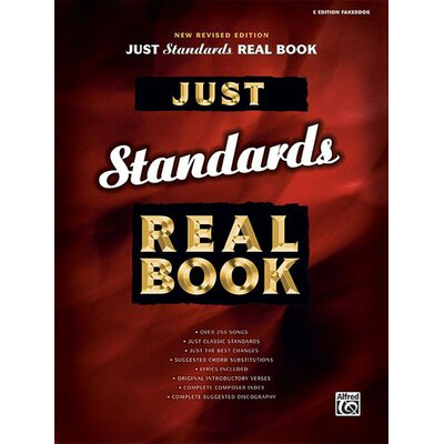 Alfred Publishing Company Just Standards Real Book