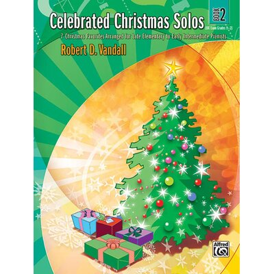 Alfred Publishing Company Celebrated Christmas Solos, Book 2